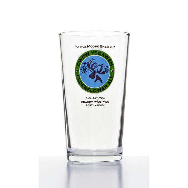 Ysgawen Pint Glass