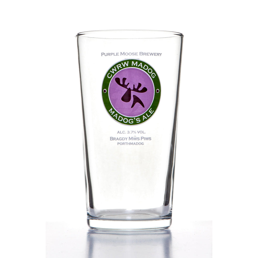Madog Pint Glass