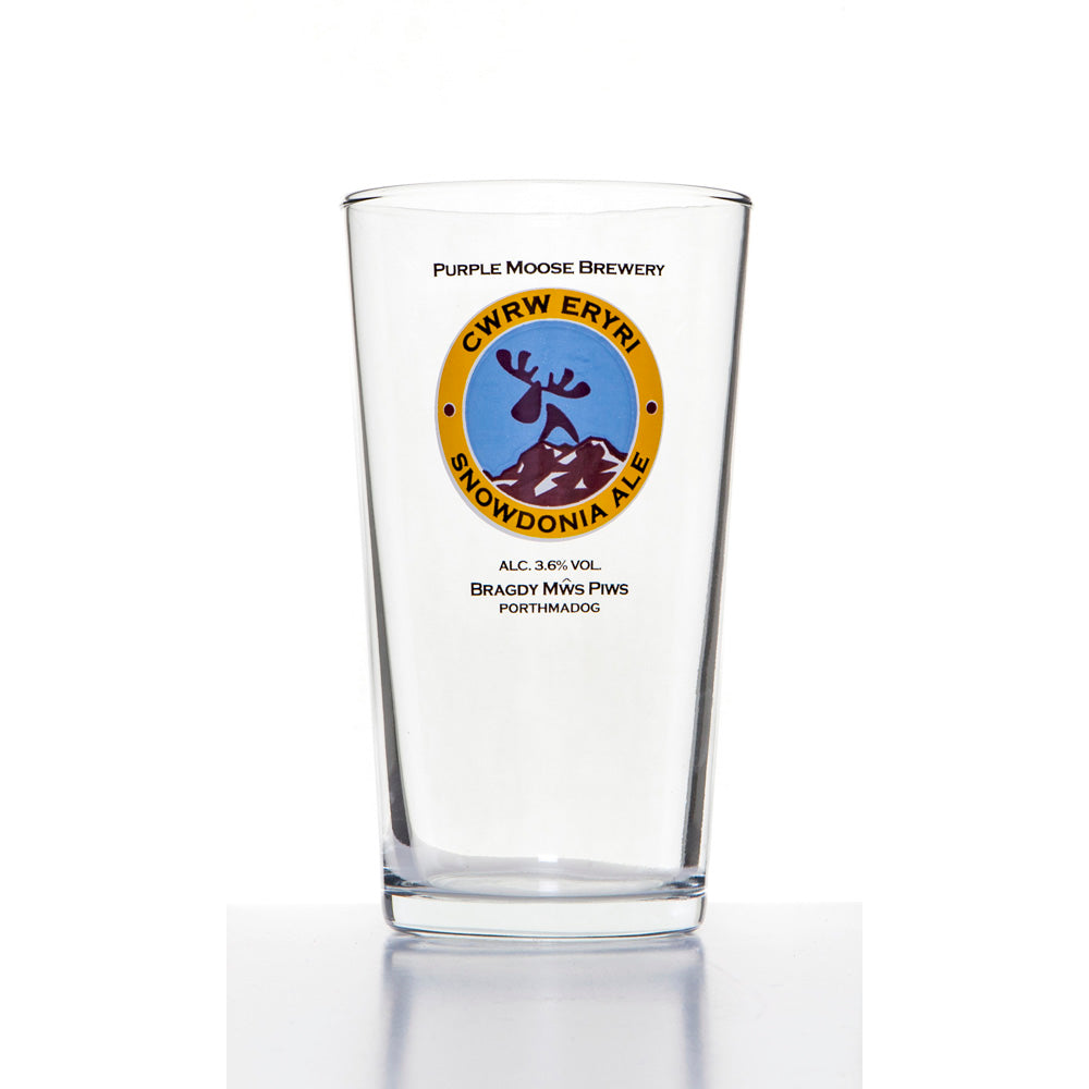 Snowdonia Pint Glass