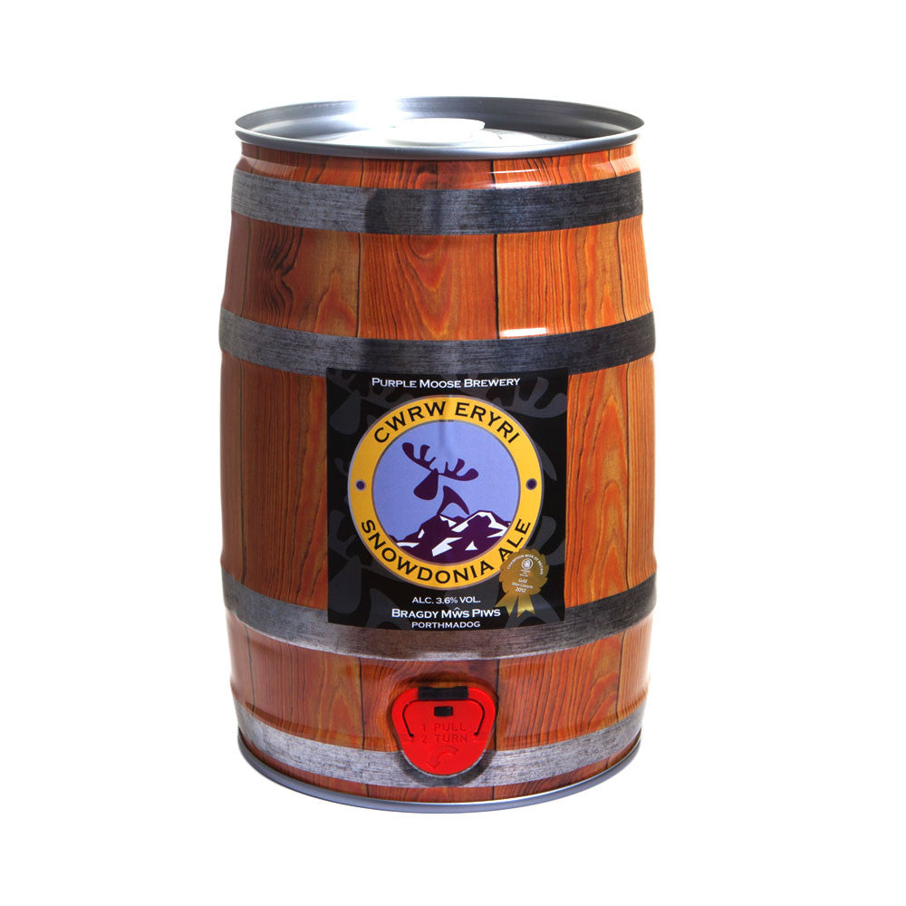Mini keg Snowdonia ( kegs will be sent out week commencing the 2nd of December)
