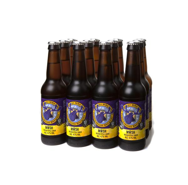 Case of 15 Mwsh (Kolsch style Lager)