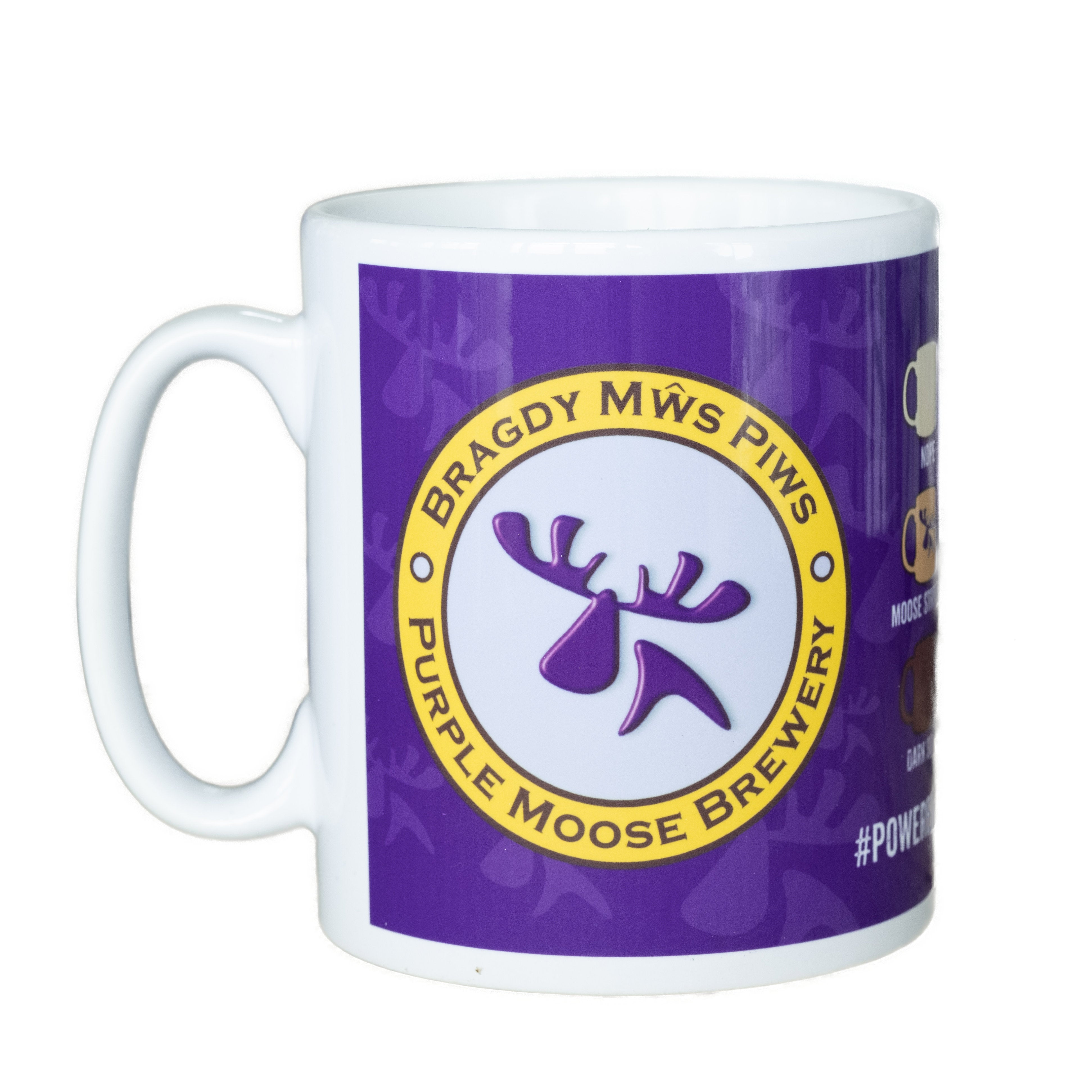 Purple Moose Mug