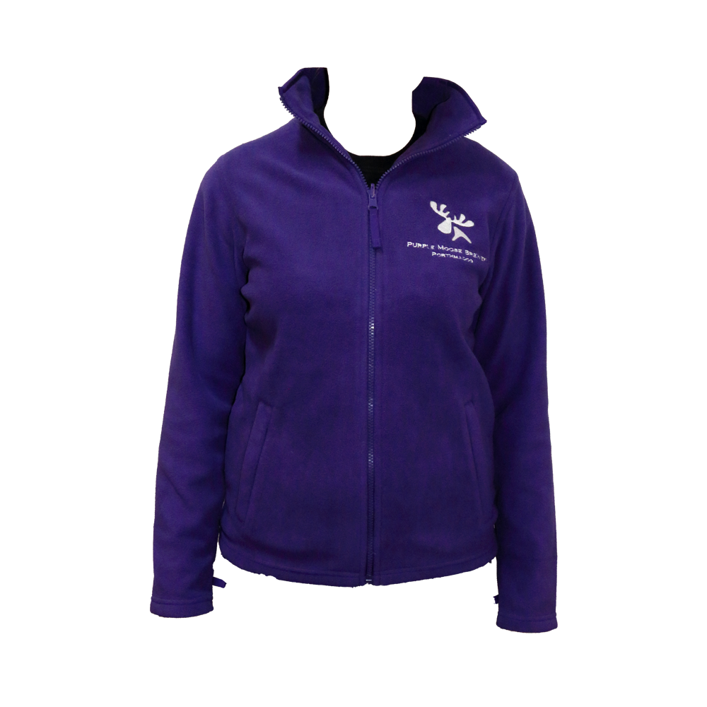 Ladies Purple Fleece