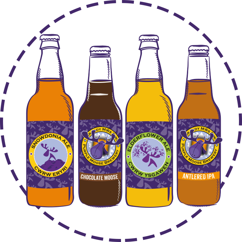 Purple Moose Beer Shop