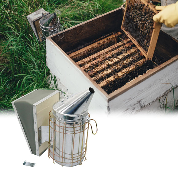 Bee Keepers Stainless Steel Smoke Apiculture 1 Pc
