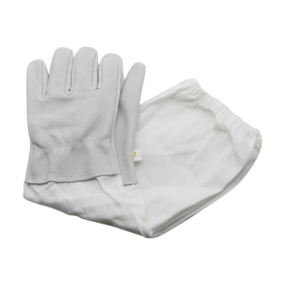 Beekeeping Sheepskin Gloves Apiculture 1 Pair - 2 Colours