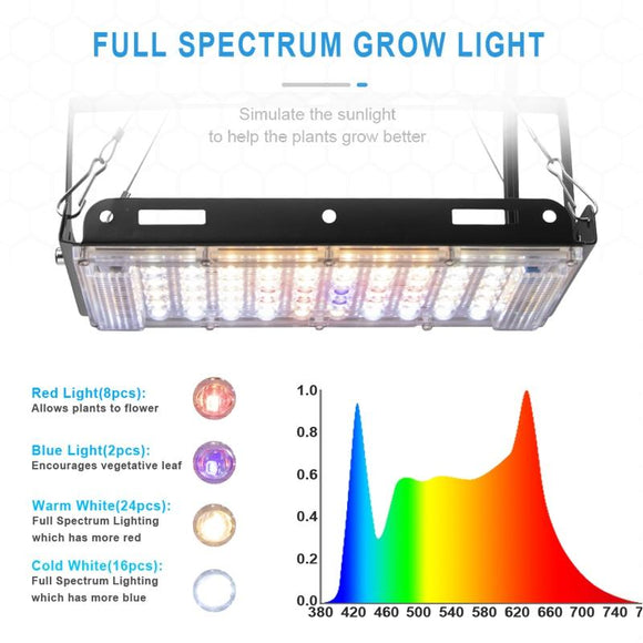 Grow Light - 800W Phytolamp For Plants