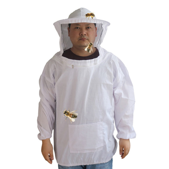 Beekeeper Half body Clothing with bee-proof cap 1 Pc