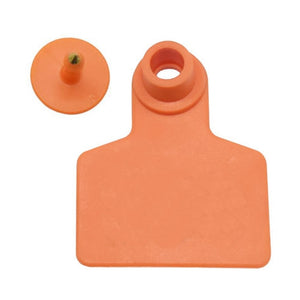Cattle Ear Tag Blank. 40x50mm 100 Pcs