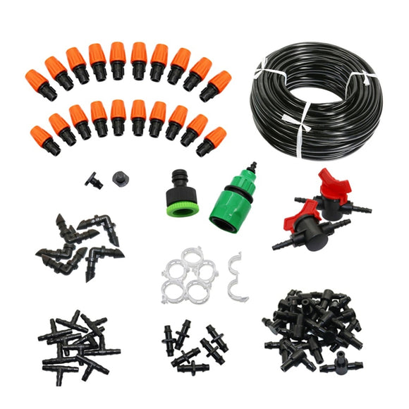 Misting System Drip Irrigation watering kit - 20mts 20 Sets