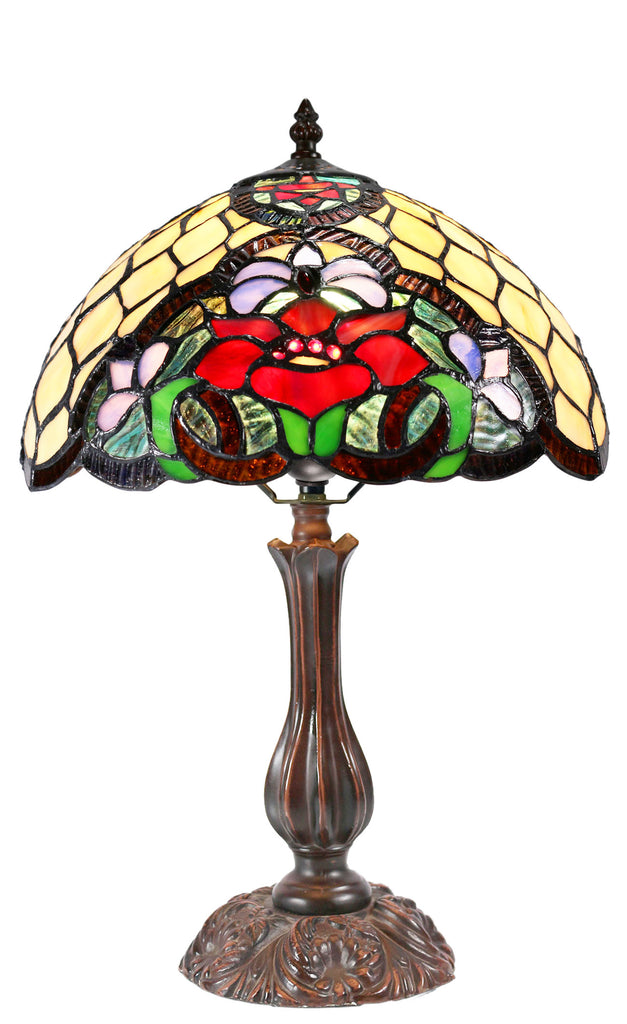 "12"" Alicia Tiffany Tiffany Bedside Lamp"