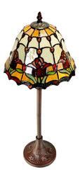 Classical Colonial Tulip Style Tiffany Buffet Lamp