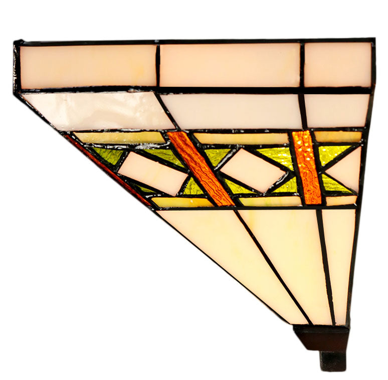 Classical Mission Stained Glass Tiffany Wall Light Wall Scone