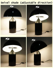 High Quality Designer Creative Modern mushroom Table Lamp*Swivel shade (adjustable direction)
