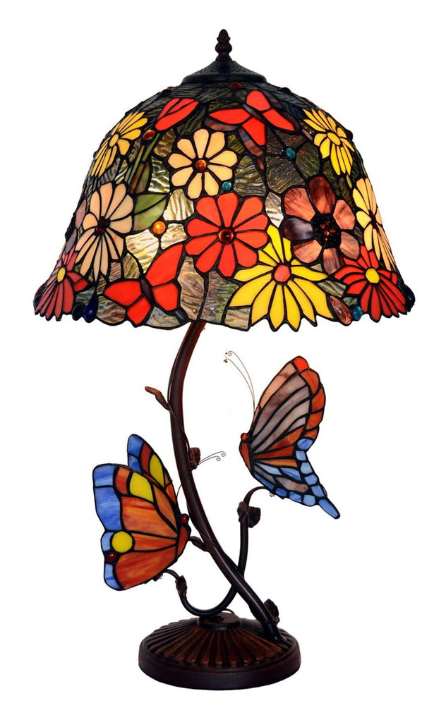 "Eye-catching collection@ 16"" Daisy Aster tyle Tiffany Table Lamp  @ Limited Stock only"