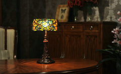 Dragonfly Style Tiffany Banker Lamp