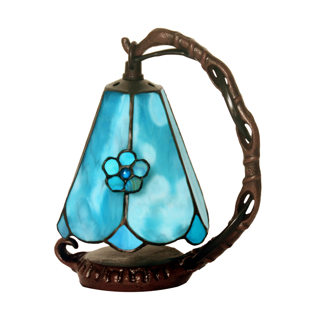 Mini Tiffany Stained Glass Night Lamp