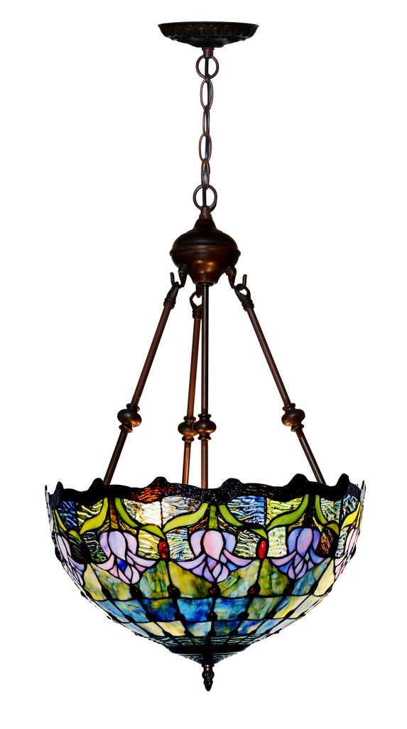 "Large 16"" Tulip style  Tiffany Uplihgter Pendant Lights"