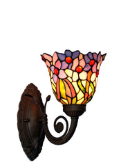 Flower Orchid Style Tiffany Wall up lights wall Sconce