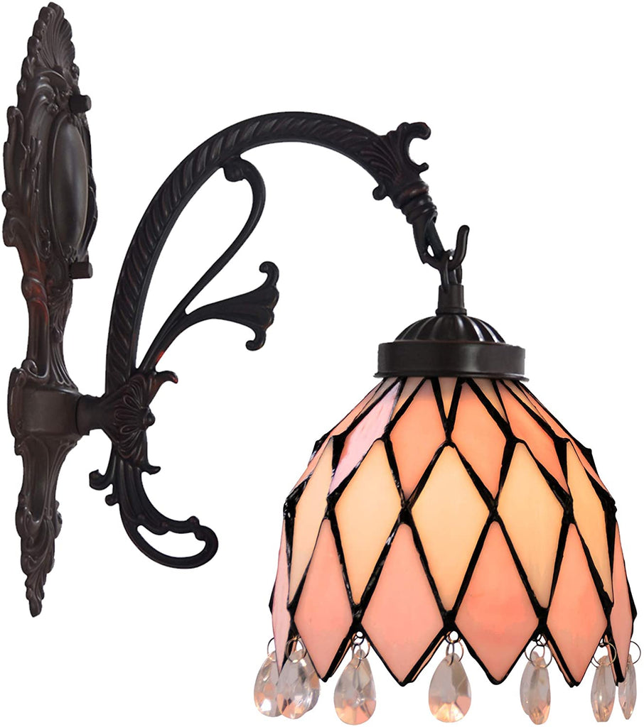Pink Tiffany Wall lights Down lights wall Sconce