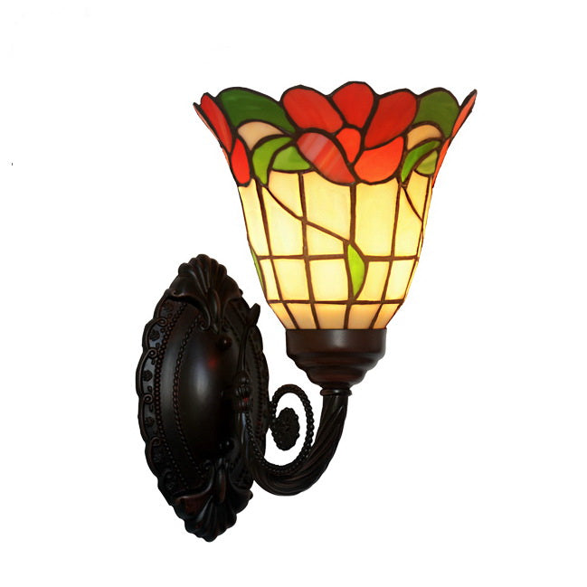 Flower Style  Tiffany Wall up lights wall Sconce