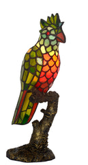 Tiffany Parrot Novelty Table Lamp