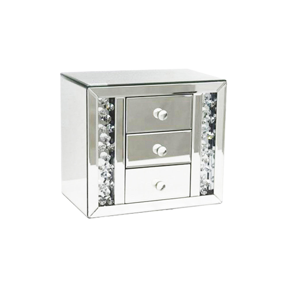 floating crystal mirrored jewellery box melior rooms