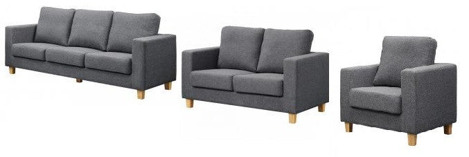 Chesterfield Linen Fabric Sofa Sets