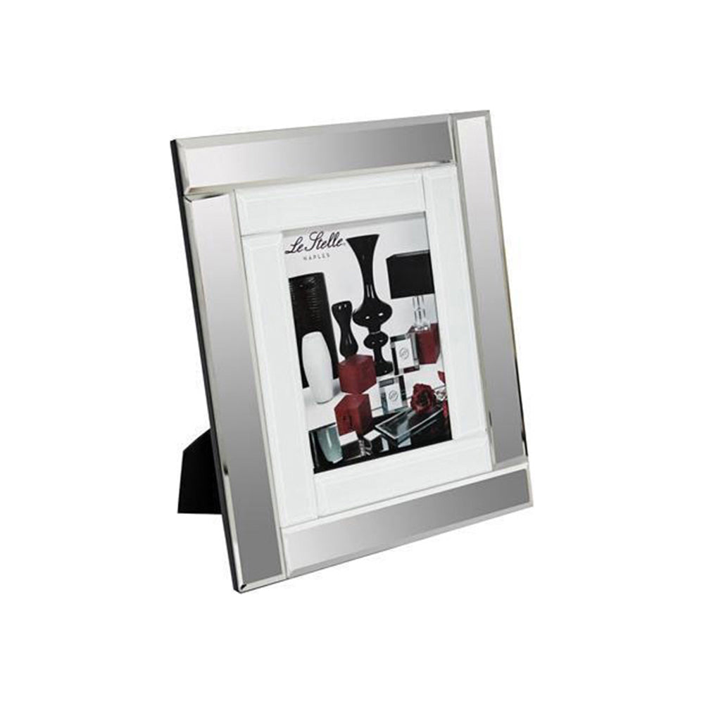London White Mirrored Large Photo Frame – Melior Rooms