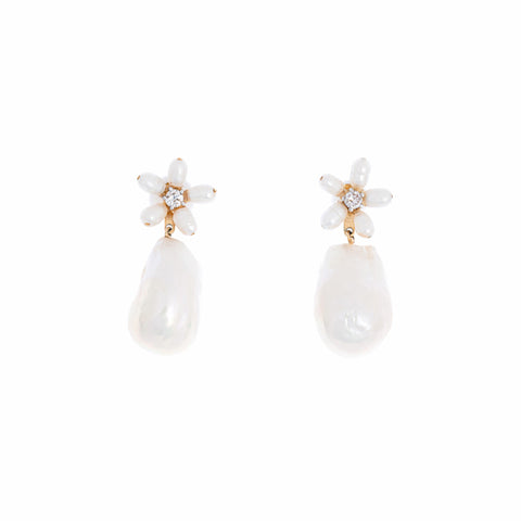 Liwayway Baroque Pearl Earrings