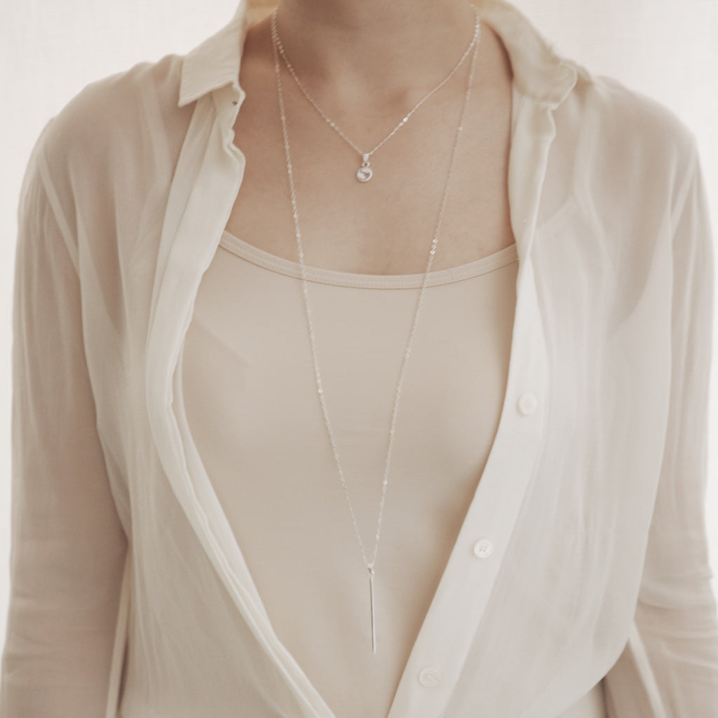 Long Bar Necklace