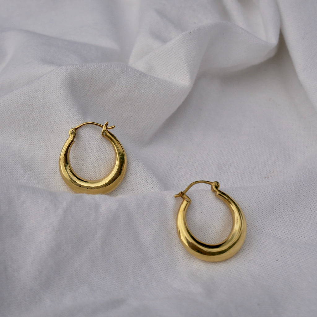 Regular Disc Earrings