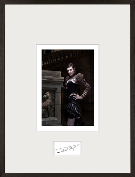 Floor Jansen - Vista - Signed and framed print - limited to 3