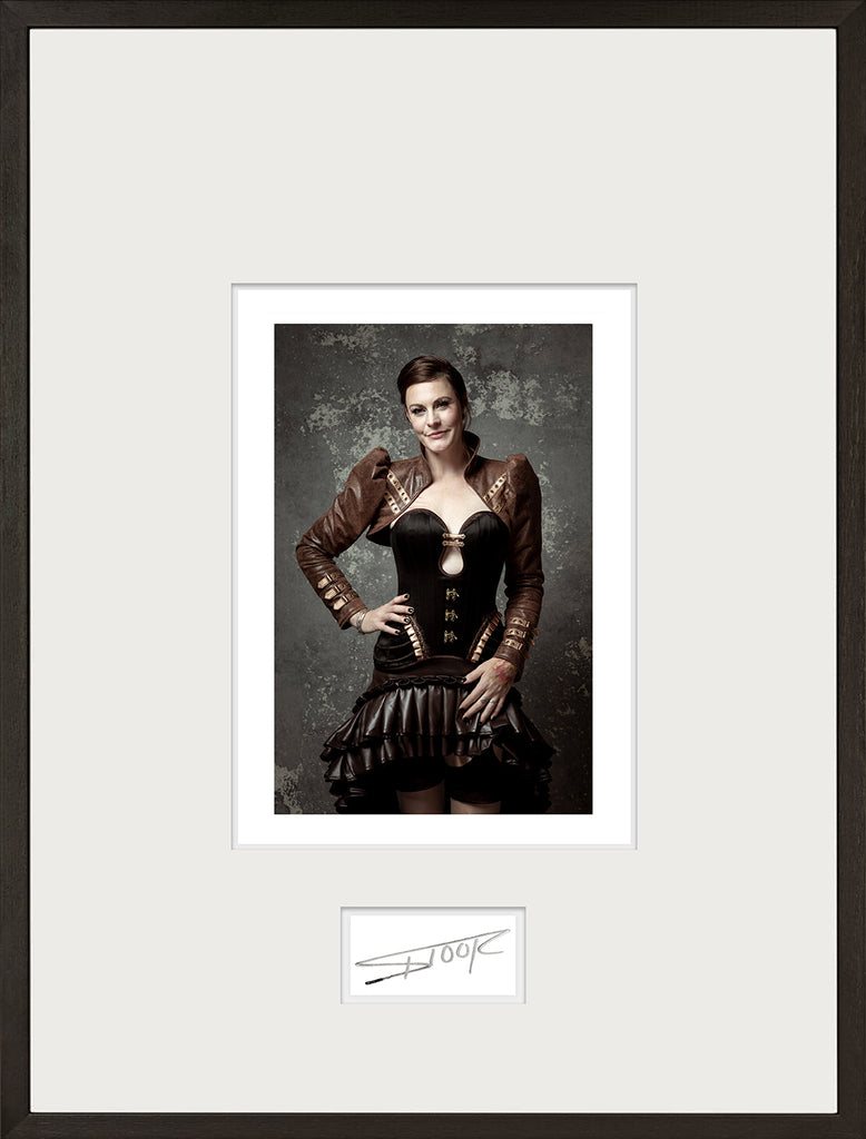 Floor Jansen - Cradle - Signed and framed print - limited to 3