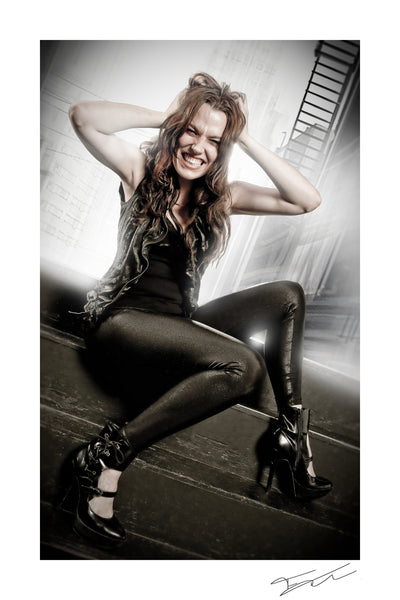 LZZY HALE - Conflicted print