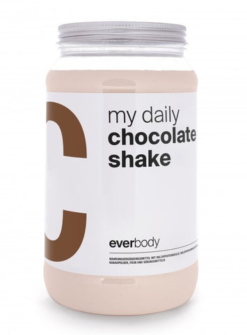 my daily shake chocolate