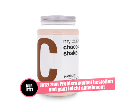 Aktionsangebot: my daily Shake Geschmack: Chocolate