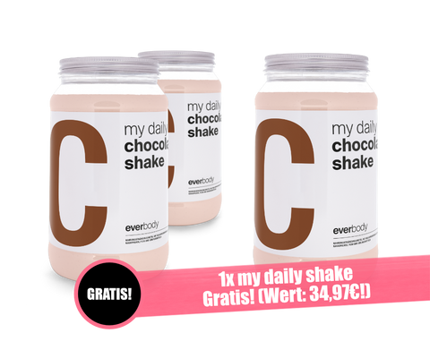 Image of Aktionsangebot: my daily Shake Geschmack: Chocolate