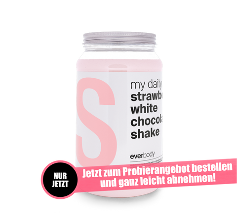 Image of Aktionsangebot: my daily Shake Geschmack: Strawberry white Chocolate