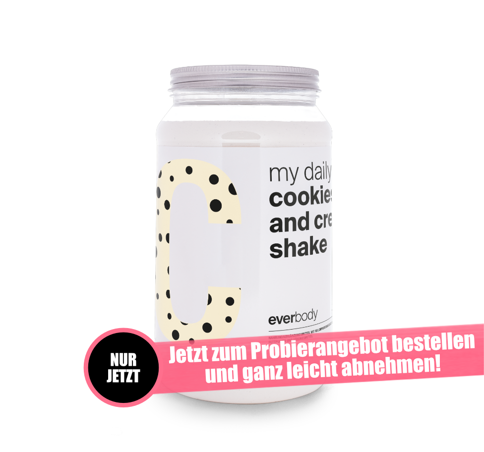 Aktionsangebot: my daily Shake Geschmack: Cookies and Cream
