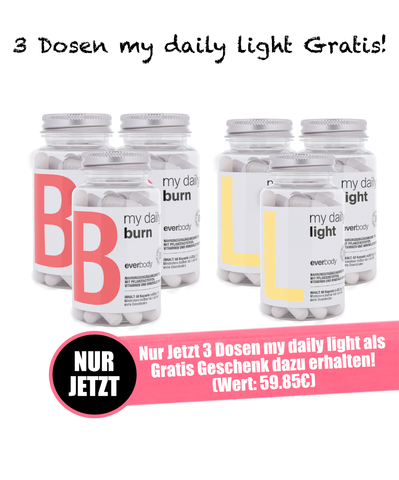 my daily burn & light - Die perfekte Abnehm-Kombination!