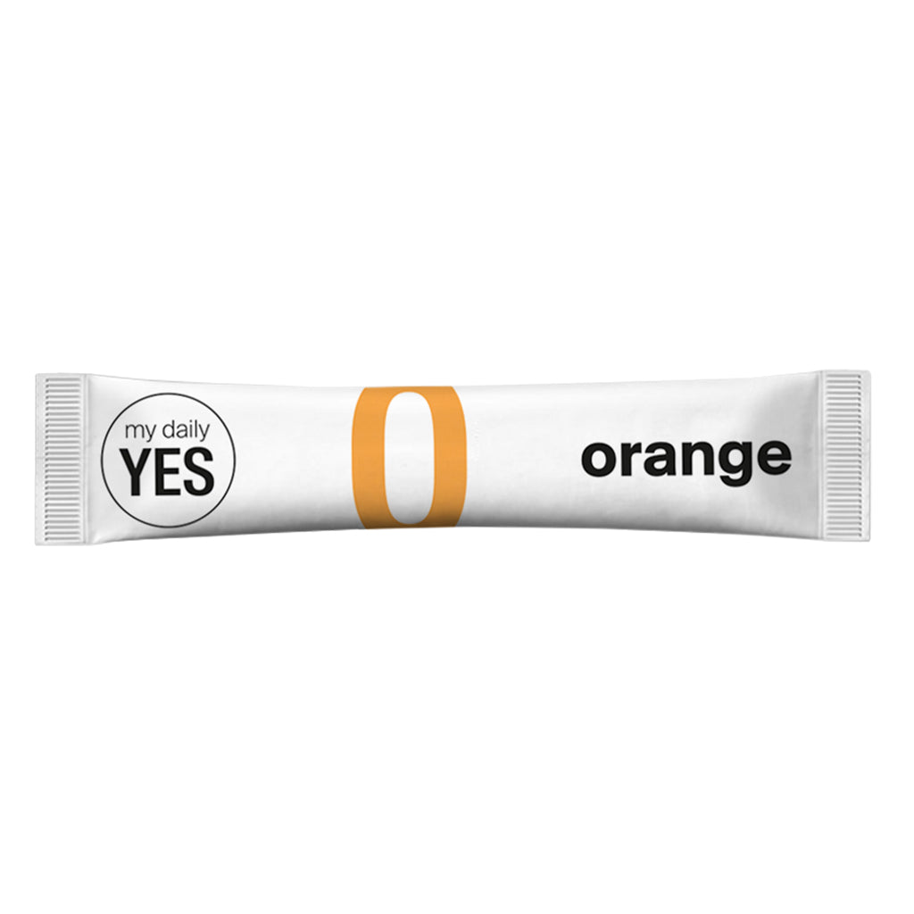 my daily YES - Heißhungerstick Orange