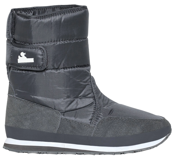 Kids' - Nylon Suede Solid - Charcoal Grey - RubberDuck.com