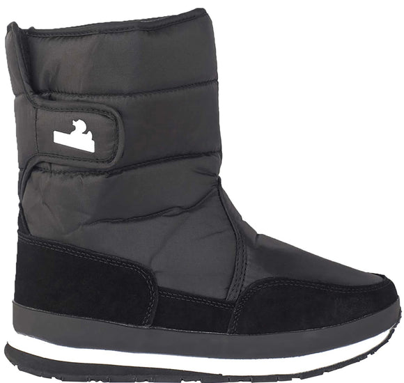 Kids' - Nylon Suede Solid - Black - RubberDuck.com