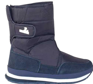 Kids' - Nylon Suede Solid - Navy - RubberDuck.com