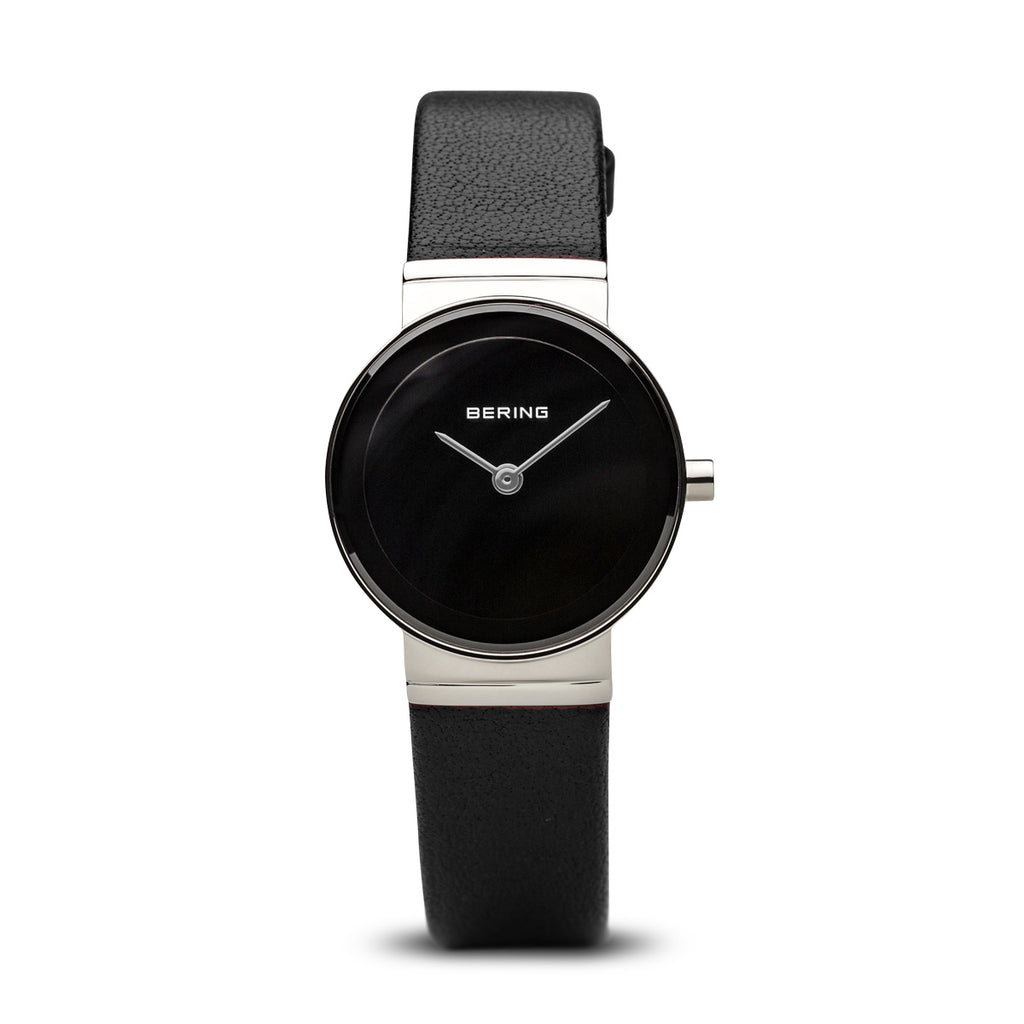 Bering-Classic/Black/Silver/Black Leather/26mm-Watch-10126-402-THE UNIT STORE