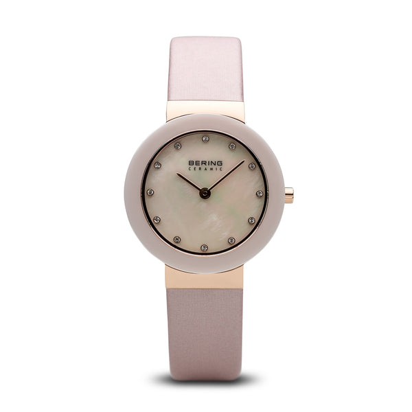 Bering-Ceramic/Pink/Rose Gold/Pink Satin/29mm-Watch-11429-664-THE UNIT STORE