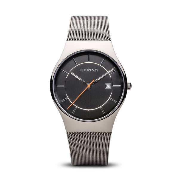 Bering-Classic/Grey/Sliver/Grey/40mm-Watch-11938-007-THE UNIT STORE
