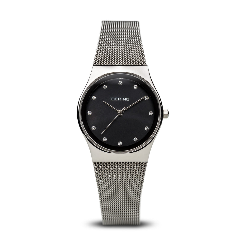 Bering-Classic/Black/Silver/Sliver/27mm-Watch-12927-002-THE UNIT STORE