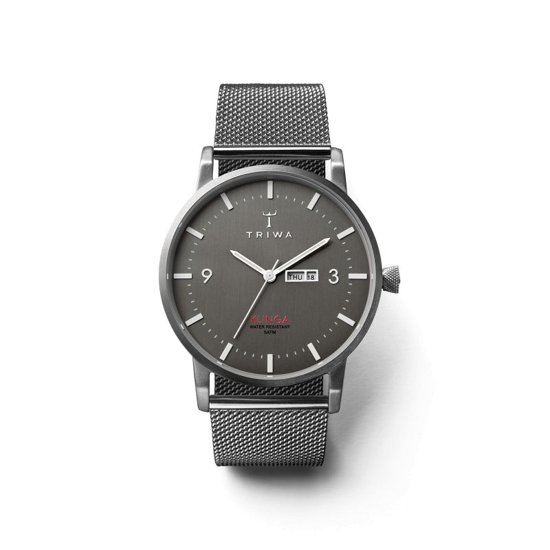 TRIWA-Klinga Dusk Klinga - Steel Mesh-Watch-KLST102-ME021212-THE UNIT STORE